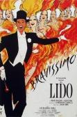 Lido Bravissimo Rene Gruau Original French Poster Original Offset Lithograph