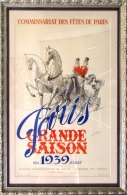 Original Stone lithograph French Posters