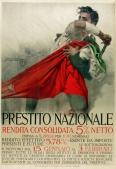 Prestito Nazionale Original Stone Lithograph Italian Posters Military WWI