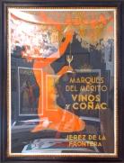 Vinos y Conac Original Poster Spanish Art Deco