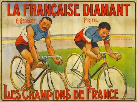La Francaise Diamant Original Poster