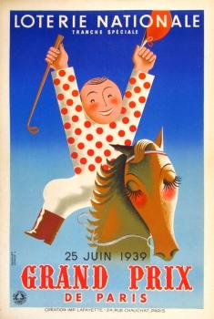 Loterie Nationale Grand Prix, Derouet, 1939