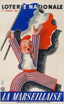 Loterie Nationale La Marseillaise, Déroute, 1939