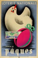Loterie Nationale Tranche De Paques, Derouet, 1940
