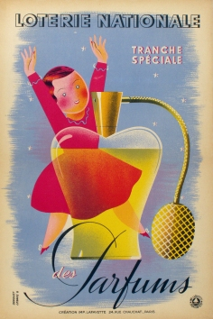 Loterie Nationale Parfums, Derouet, 1939