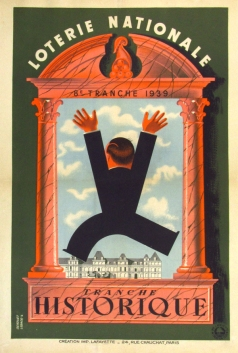 Loterie Nationale Tranche Historique, Derouet, 1939
