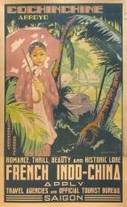 L'Indochine Française Cocochine, Original Color Poster