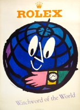 Rolex Watchword of the World, Original Color Poster