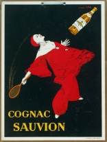 """Cognac Sauvion Window Card"" c. 1925, 24 x 18 (inches) $950"