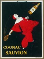 """Cognac Sauvion Window Card"" c. 1925, 24 x 18 (inches) $950"